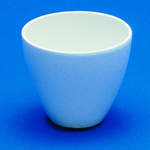 High Form Porcelain Crucibles